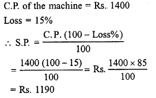 Selina Concise Mathematics class 7 ICSE Solutions - Profit, Loss and Discount-a5