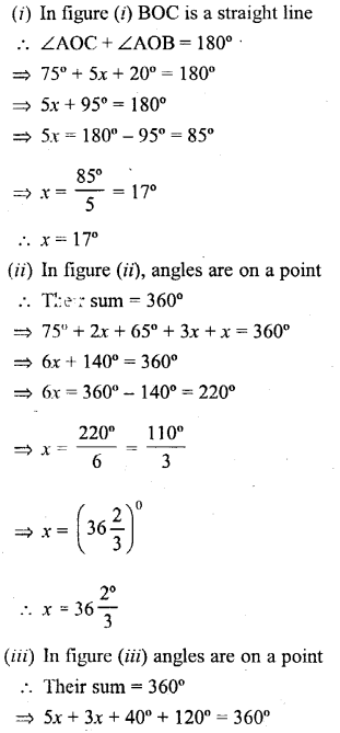 Selina Concise Mathematics Class 6 ICSE Solutions - Angles (With their Types) -r2s