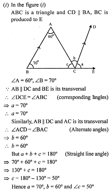 Selina Concise Mathematics Class 6 ICSE Solutions - Properties of Angles and Lines (Including Parallel Lines)-r2s