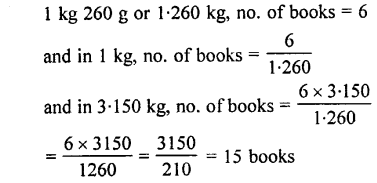 Selina Concise Mathematics class 7 ICSE Solutions - Unitary Method (Including Time and Work)-a1