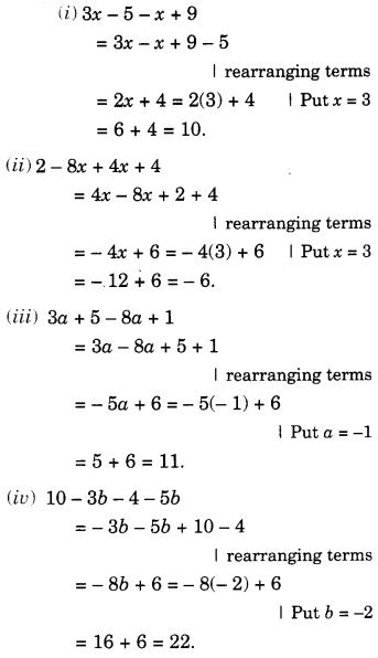 NCERT Solutions for Class 7 Maths Chapter 12 Algebraic Expressions 34
