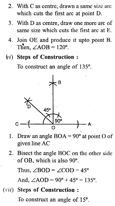 Selina Concise Mathematics Class 6 ICSE Solutions - Properties of Angles and Lines (Including Parallel Lines)-c2....