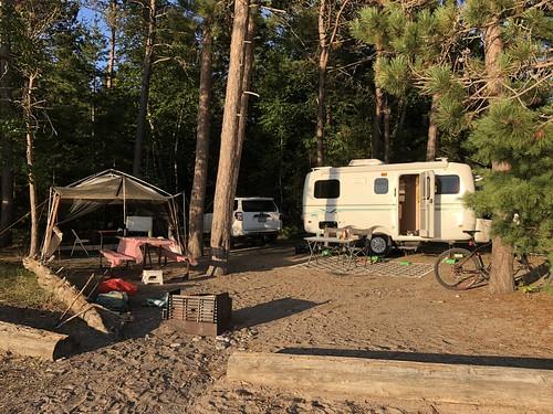 Lake Superior Park Campsite 2 dry camping