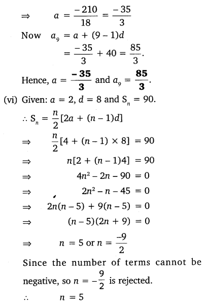 NCERT Solutions for Class 10 Maths Chapter 5 Arithmetic Progressions 56