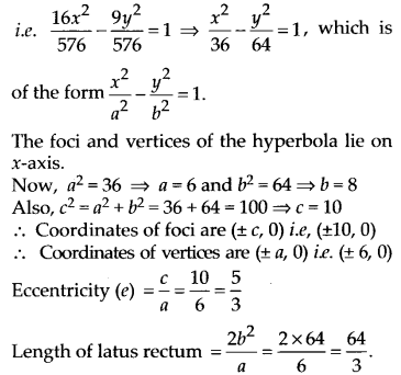 NCERT Solutions for Class 11 Maths Chapter 11 Conic Sections 38