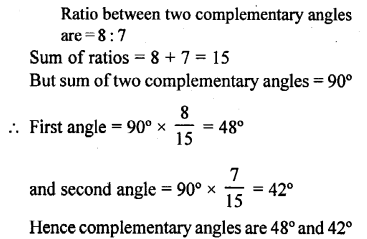 Selina Concise Mathematics Class 6 ICSE Solutions - Angles (With their Types) -r7