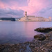 Pink Sunset on Saint-Jean