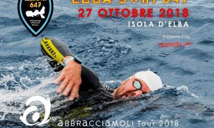 Abbracciamoli Tour 2018, tappa conclusiva con l'Elba Swim 647