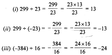 Selina Concise Mathematics Class 7 ICSE Solutions Chapter 1