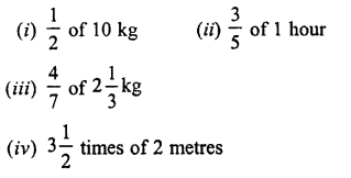 Selina Concise Maths class 7 ICSE Solutions - Fractions (Including Problems)-C4