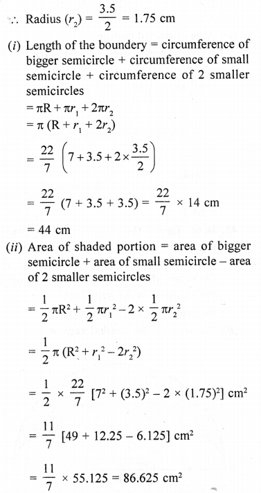 RD Sharma Class 10 Solutions Chapter 13 Areas Related to Circles Ex 13.4 - 42a