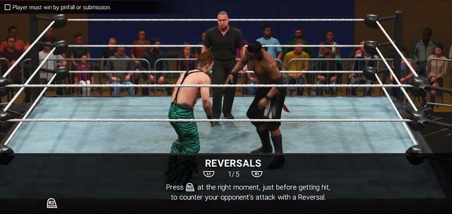 WWE 2K19 Reversals