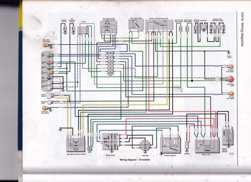 Wiring Diagram 5 Series 1969-1973