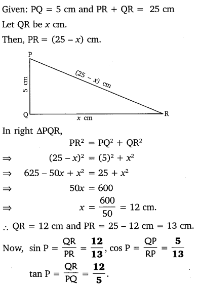 NCERT Solutions for Class 10 Maths Chapter 8 Introduction to Trigonometry 16