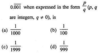 RD Sharma Class 9 Solutions Chapter 1 Number Systems - 1.mcq .17