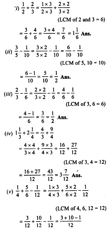 Selina Concise Maths class 7 ICSE Solutions - Fractions (Including Problems)-C1..