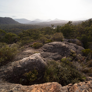 Wollemi NP from the Pagoda Lookout