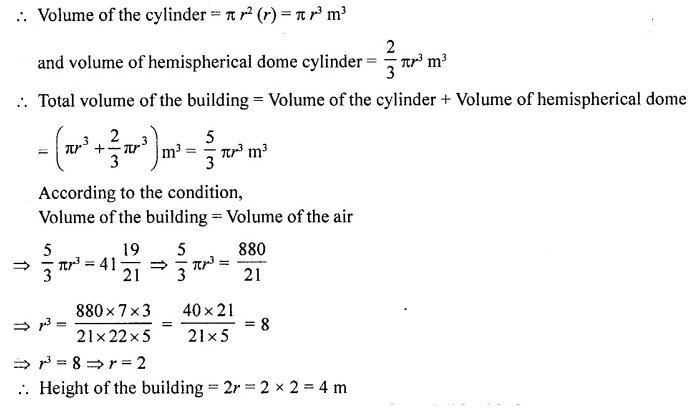 RD Sharma Class 10 Solutions Chapter 14 Surface Areas and Volumes Ex 14.2 34a