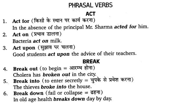 UP Board Solutions for Class 11 English Vocabulary Chapter 9 Idioms and Phrases 37