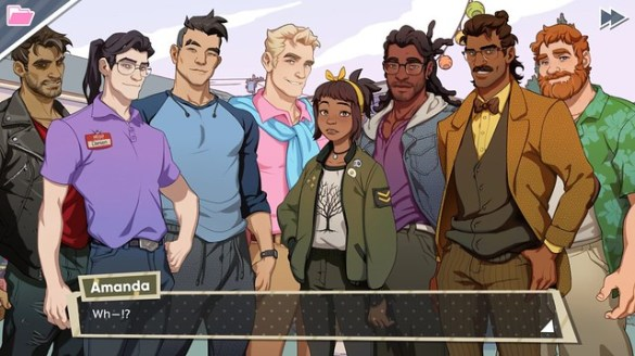 Dream Daddy - Gay Dads