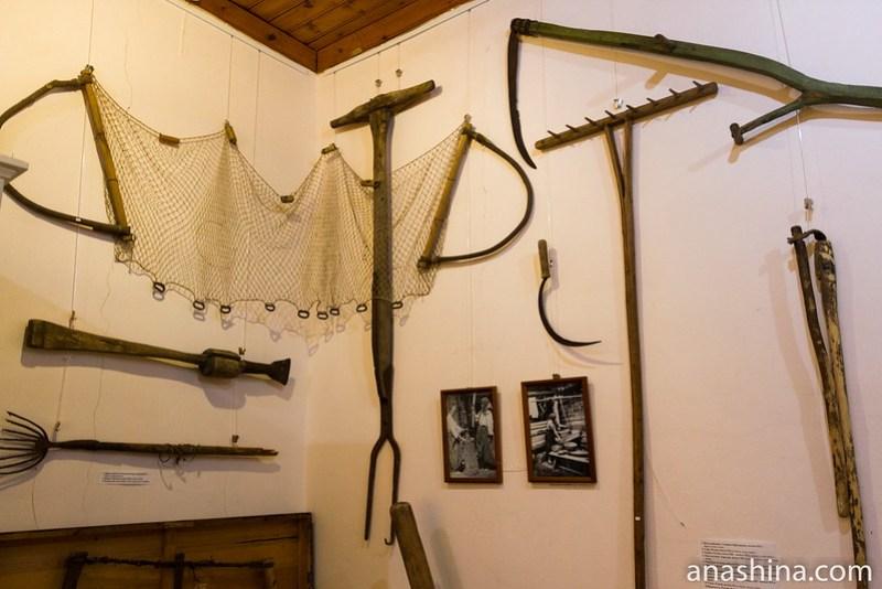 Традиционные орудия труда, Региональный музей Северного Приладожья, Сортавала