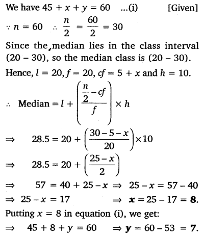 NCERT Solutions for Class 10 Maths Chapter 14 Statistics 41