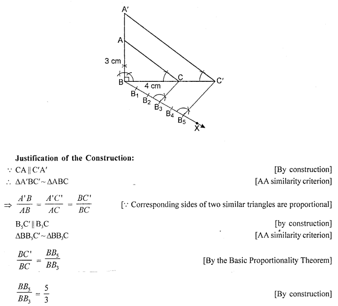 RD Sharma Class 10 Solutions Chapter 9 Constructions Ex 9.2 -16