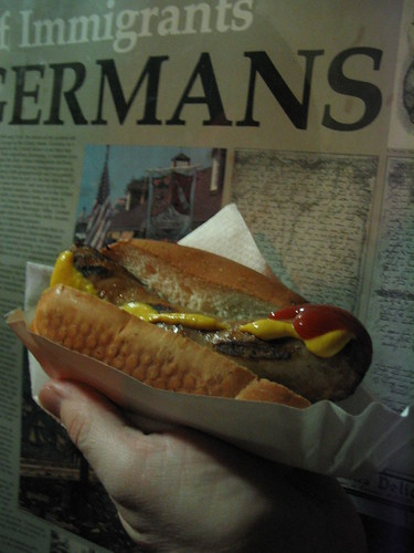 Bratwurst from Germany