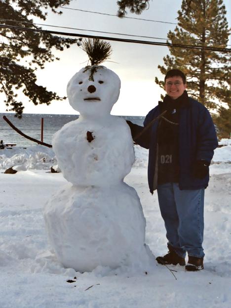 Mohawk Snowman
