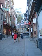 rue sous le fort, Québec city