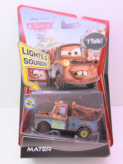 disney cars 2 lights and sounds mater