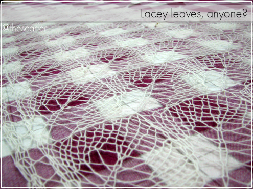 Lacey leaves, anyone?