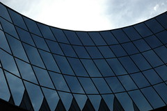 Abstract Technology architecture parabolic Windows