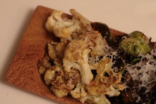 Saffron Infused Pan Seared Cauliflower