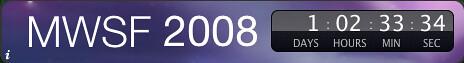 Widget de cuenta atrás para la Macworld 2008