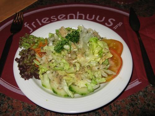 Salat im Friesenhuus (Norderney)