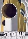Cassandre. Poster New Statendaam 1929.