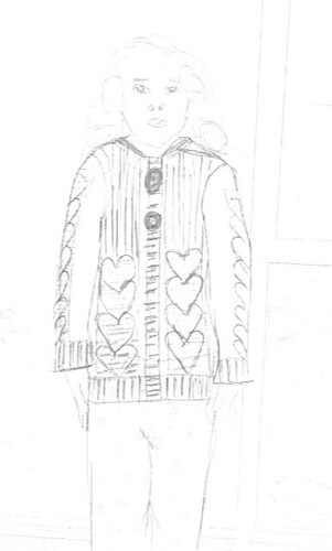 Cardi Sketch Front