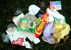More litter on the Common.