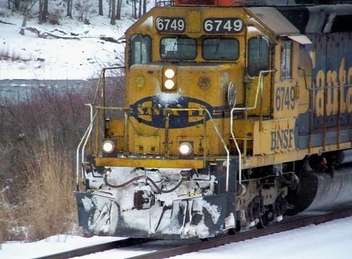 BNSF 6749 train