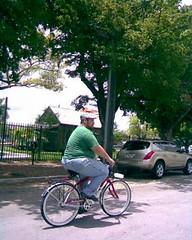 Me Riding at Bike Miami