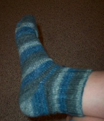 1st sock done 2