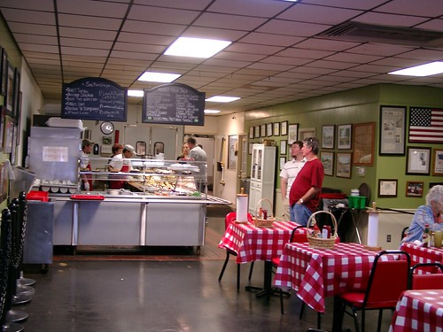 Inside the Irondale Cafe