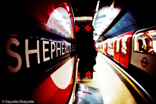 Goodbye, Shepherds Bush Tube Station