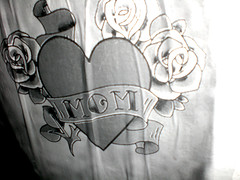 Mom's Tattoo Heart