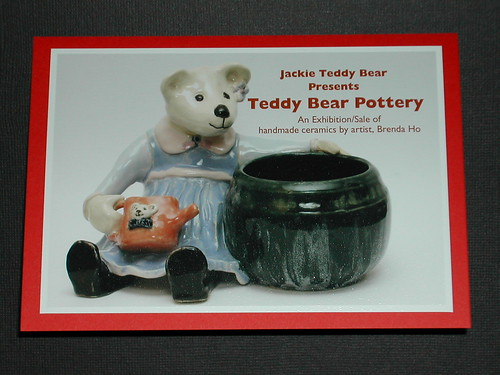 Teddy Bear Pottery Exhibition