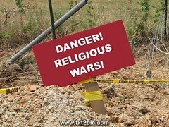 Danger! Religious Wars!