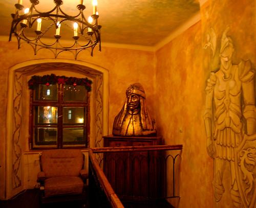 Dentro del restaurante de Vlad Tepes