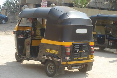 電動車Auto-Rickshaw_市區主要交通工具1-1