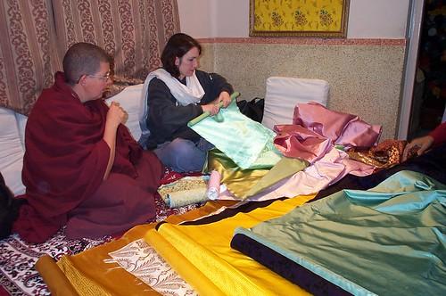 Buying silk